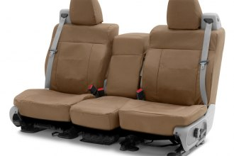 Coverking® - Cordura Ballistic 2nd Row Tan Custom Seat Covers
