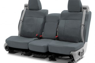 Coverking® CSC1E4GM8436 - Cordura Ballistic 2nd Row Charcoal Custom Seat Covers