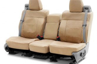 Coverking® - Cordura Ballistic 2nd Row Cashmere Custom Seat Covers