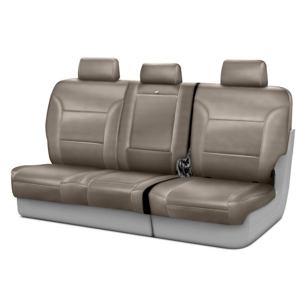 Coverking® - Genuine Leather 3rd Row Beige Custom Seat Covers