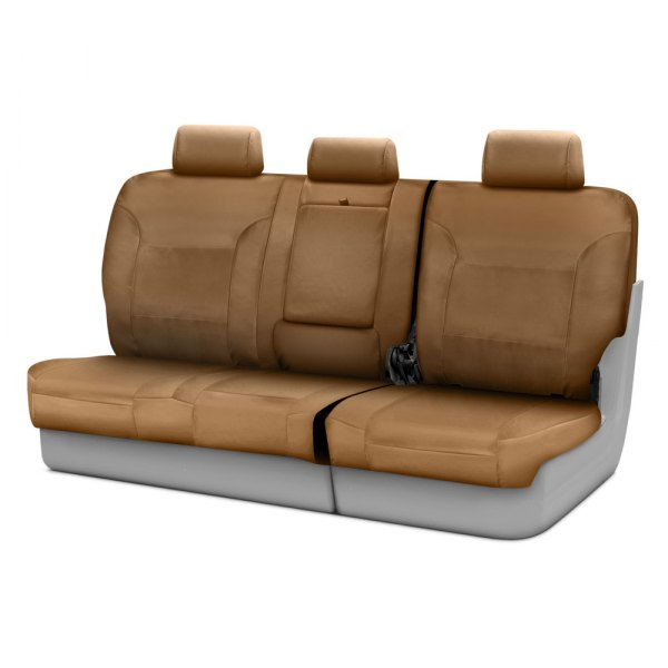 Coverking® - Polycotton Drill 3rd Row Tan Custom Seat Covers
