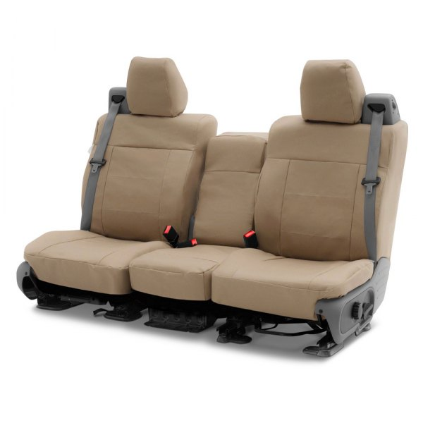 Coverking® - Polycotton Drill 2nd Row Cashmere Custom Seat Covers