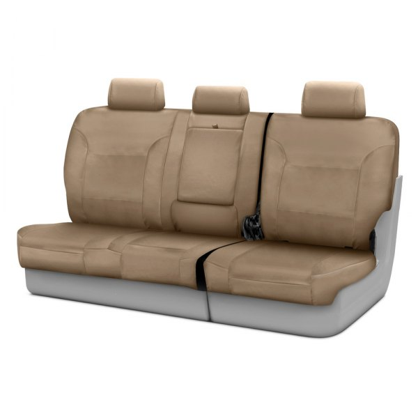 Coverking® - Polycotton Drill 3rd Row Cashmere Custom Seat Covers