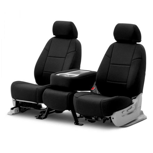 Coverking® - Neosupreme 2nd Row Black Custom Seat Covers