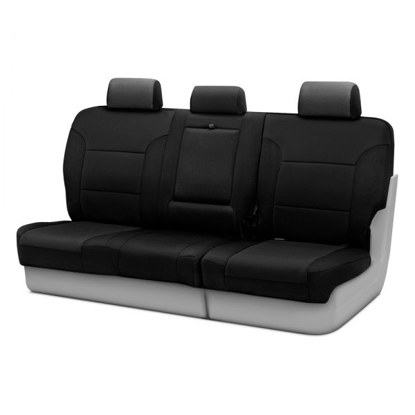 Coverking® - Neosupreme 3rd Row Black Custom Seat Covers