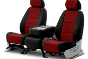 Image may not reflect your exact vehicle! Coverking® - Neosupreme 2nd Row Custom Seat Covers