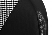 Coverking® - Designer Printed Neosupreme 2-Tone Houndstooth Custom Seat Covers Sidearm