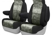 Coverking® - Digital 1st Row 2-Tone Jungle Custom Seat Covers