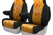Image may not reflect your exact vehicle! Coverking® - CR-Grade Neoprene 1st Row Custom Seat Covers