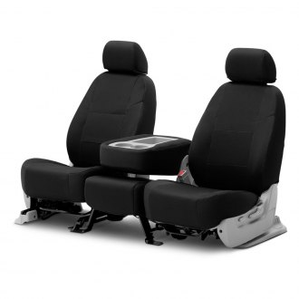 Coverking® - Spacer Mesh 2nd Row Black Custom Seat Covers