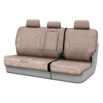 Image may not reflect your exact vehicle! Coverking® - Suede 3rd Row Custom Seat Covers