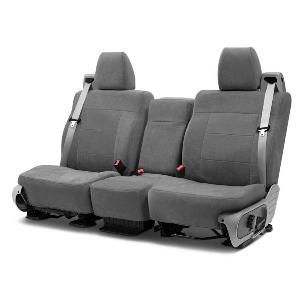 Coverking® - Suede 2nd Row Charcoal Custom Seat Covers