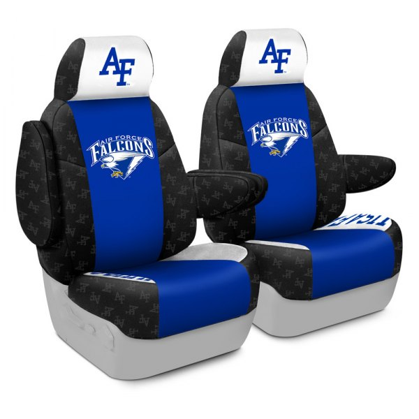 Coverking® - Licensed Collegiate 1st Row Custom Seat Covers with U.S. Air Force Academy Logo