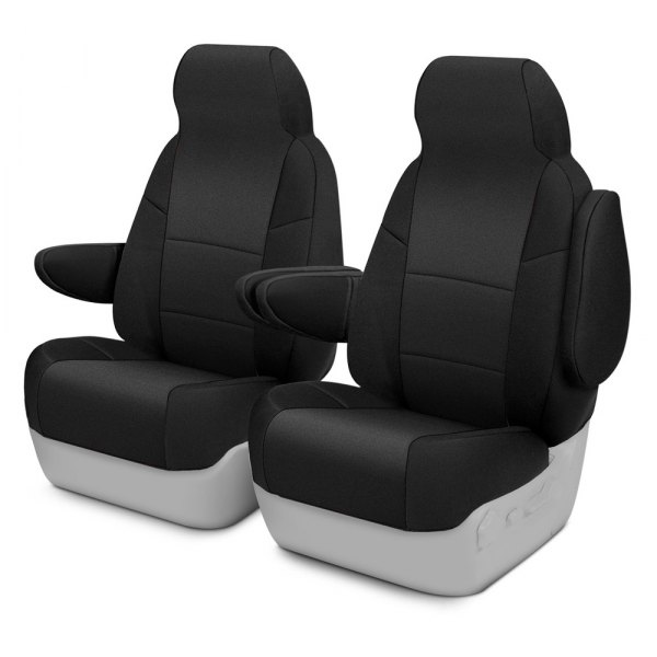Coverking® - CR-Grade Neoprene 1st Row Black Custom Seat Covers