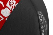 Coverking® - CR-Grade Neoprene Black & Hawaiian Red Custom Seat Covers Sidearm