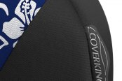 Coverking® - CR-Grade Neoprene Black & Hawaiian Blue Custom Seat Covers Sidearm