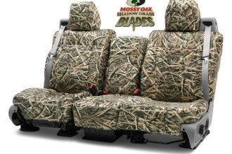 Coverking® CSCMO07GM9560 - Mossy Oak™ 2nd Row Camo Shadow Grass Blades Custom Seat Covers