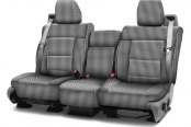 Coverking® - Designer Printed Neosupreme 2nd Row Houndstooth Custom Seat Covers
