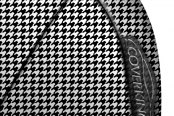 Coverking® - Designer Printed Neosupreme Houndstooth Custom Seat Covers Sidearm