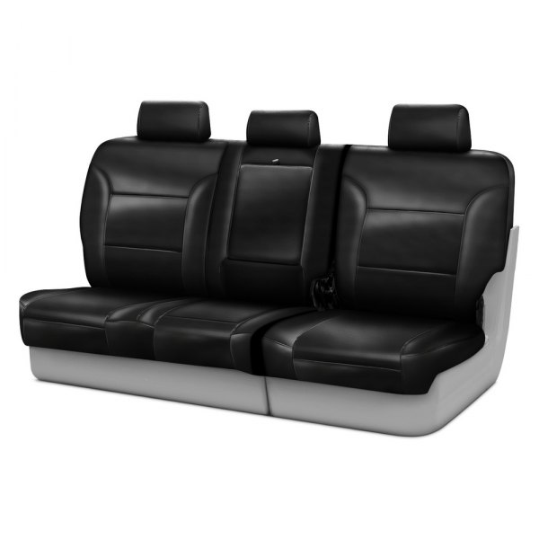 Coverking® - Leatherette 3rd Row Black Custom Seat Covers