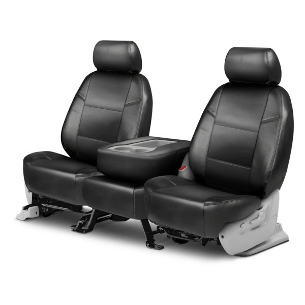 Coverking® - Leatherette 2nd Row Charcoal Custom Seat Covers