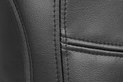 Coverking® - Leatherette Charcoal Custom Seat Covers Seam
