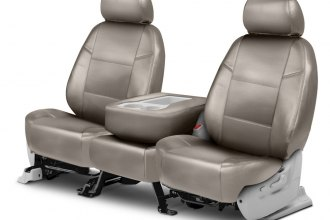 Coverking® CSCQ5FD7848 - Leatherette 2nd Row Cashmere Custom Seat Covers