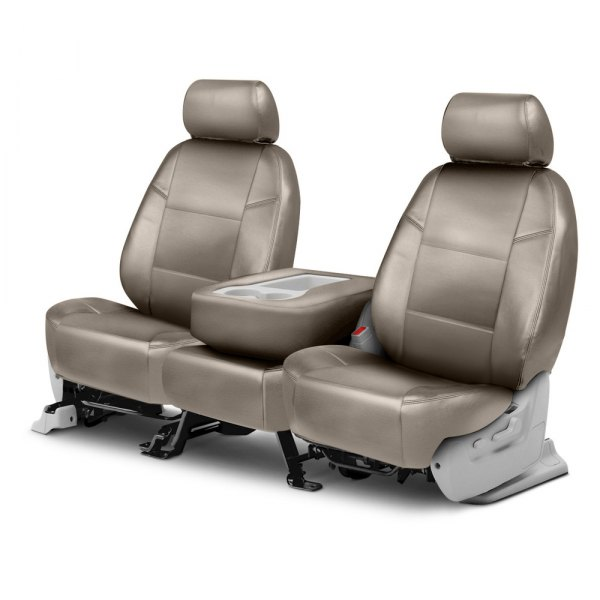 Coverking® - Leatherette 2nd Row Taupe Custom Seat Covers