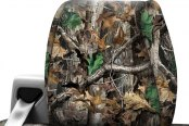 Coverking® - Realtree™ 1st Row Advantage Timber Custom Seat Cover Headrest