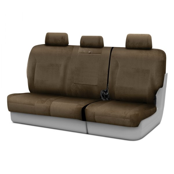 Coverking® - Velour 3rd Row Taupe Custom Seat Covers