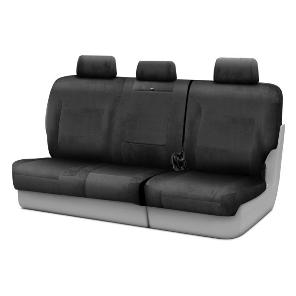 Coverking® - Velour 3rd Row Charcoal Custom Seat Covers