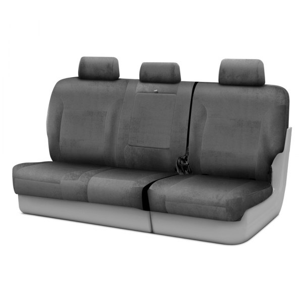 Coverking® - Velour 3rd Row Gray Custom Seat Covers