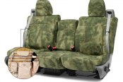 Coverking® - A-TACS™ 2nd Row Tactical Camo Foliage Green Custom Seat Covers