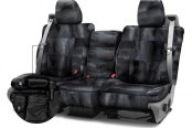 Coverking® - A-TACS™ 2nd Row Tactical Camo Law Enforcement Custom Seat Covers