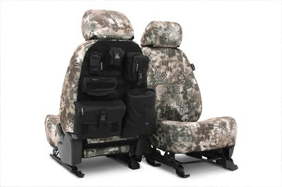 Coverking® - Custom Camouflage Tactical Seat Cover with Kryptek Banshee™ Pattern