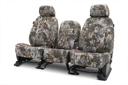 Coverking® - Custom Camouflage Seat Cover with Kryptek Banshee™ Pattern