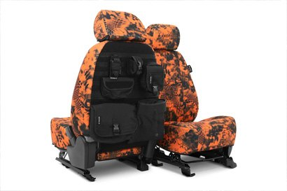Coverking® - Custom Camouflage Tactical Seat Cover with Inferno™ Pattern