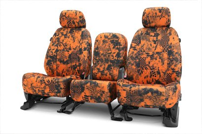 Coverking® - Custom Camouflage Seat Cover with Inferno™ Pattern