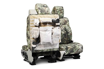 Coverking® - Custom Camouflage Tactical Seat Cover with Kryptek Mandrake™ Pattern