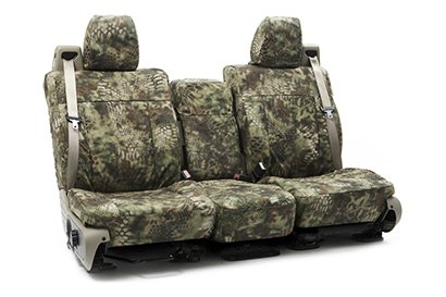 Coverking® - Custom Camouflage Seat Cover with Kryptek Mandrake™ Pattern