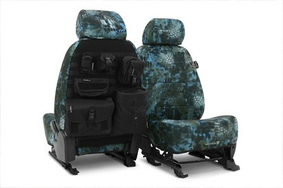 Coverking® - Custom Camouflage Tactical Seat Cover with Kryptek Neptune™ Pattern