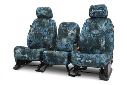 Coverking® - Custom Camouflage Seat Cover with Kryptek Neptune™ Pattern