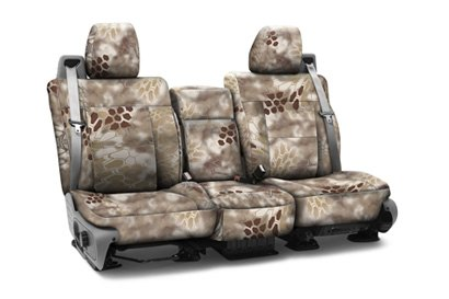 Coverking® - Custom Camouflage Seat Cover with Kryptek Nomad™