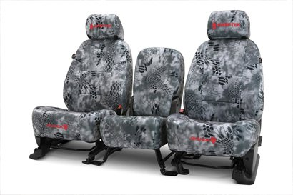 Coverking® - Custom Camouflage Seat Cover with Kryptek Raid™ Pattern