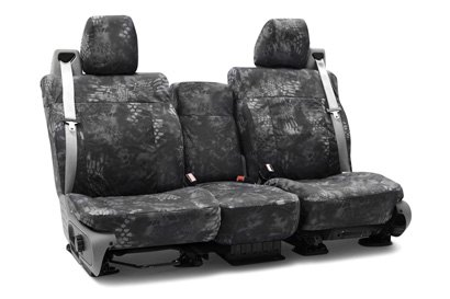 Coverking® - Custom Camouflage Seat Cover with Kryptek Typhon™ Pattern