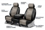 Coverking® - Leatherette Custom Seat Covers Features