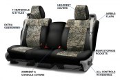 Image may not reflect your exact vehicle! Coverking® - Mossy Oak™ Camo Custom Seat Covers Features