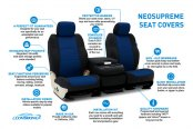 Image may not reflect your exact vehicle! Coverking® - Neosupreme Custom Seat Covers Features