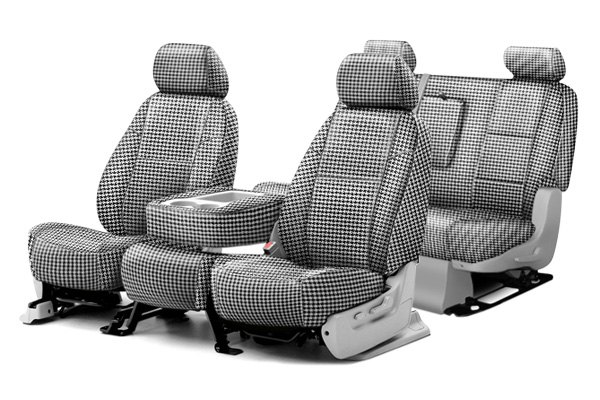 Coverking® - Neosupreme Printed Custom Houndstooth Seat Covers