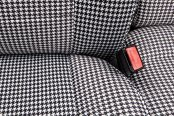 Coverking® - Front Row Neosupreme Printed Custom Houndstooth Seat Covers